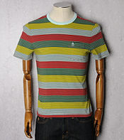 Original Penguin Multi Stripe T-Shirt