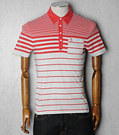 Original Penguin Paleo Multi Stripe Polo Shirt