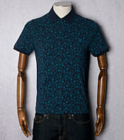 Original Penguin All Over Floral Print Polo Shirt