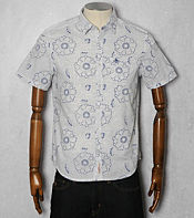 Original Penguin Floral Short Sleeved Shirt