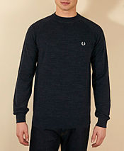Fred Perry Vintage Crew Knit