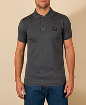 Paul and Shark Chest Badge 2 Button Polo