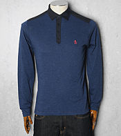 Original Penguin Long Sleeve Marl Polo Shirt- Exclusive
