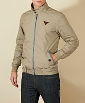 One True Saxon Brunstan Harrington Jacket - Exclusive