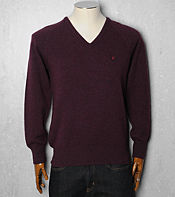 Lyle & Scott Lambswool V Neck Knit