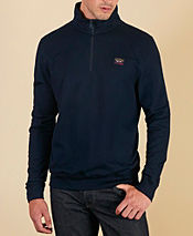 Paul and Shark Half Zip Pique Sweat