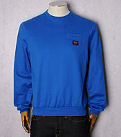 Paul and Shark Pocket Crew Neck Sweat