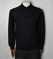 Lyle & Scott Merino Knitted Polo