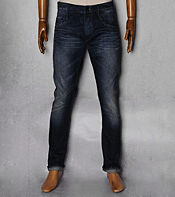 Denham Skin Double Ring Vintage Wash Jean- Long