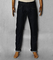 Denham Cutter Slub Denim Rise Jean- Long