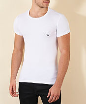 Emporio Armani Eagle Chest Crew T- Shirt