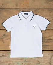 Fred Perry Kids Twin Tipped Polo Shirt