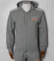 Emporio Armani EA7 7 Stripe Full Zip Hoody - Exclusive