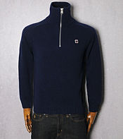 G-STAR Preppy Half Zip Knit