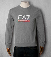 Emporio Armani EA7 Rubber Logo Sweat - Exclusive