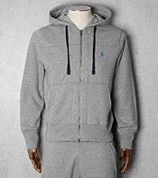 Original Penguin Quilted Secret Sam Full Zip Hoody - Exclusive