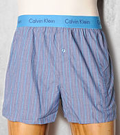 Calvin Klein Striped Trunks