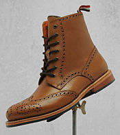 One True Saxon Whithorn 2 Leather Ankle Boot
