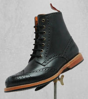 One True Saxon Whithorn 2 Leather Ankle