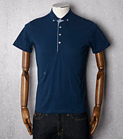 Peter Werth Irving Dogtooth Polo Shirt
