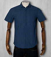 Peter Werth Lancaster Pin Dot Short Sleeved Shirt