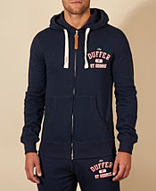 Duffer of St George New Standard Twill Full Zip Hoody - Exclusive
