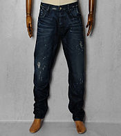 G-STAR A-Crotch Tapered Dark Aged Jeans - Reg