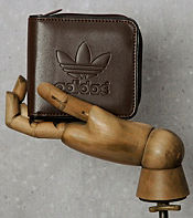adidas Originals Faux Leather Wallet
