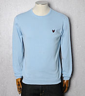 Lyle & Scott Pima Crew Knit