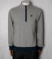 Lyle & Scott Half Zip Sweat