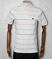 Lyle & Scott Oxford Fine Stripe Polo Shirt