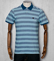 Lyle & Scott Oxford Striped Polo Shirt