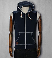 Voi Jeans Sleeveless Ogden Full Zip Hoody