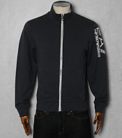 Emporio Armani EA7 Large Logo Sweat Track Top