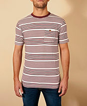 Duffer of St George Stripey T-Shirt - Exclusive