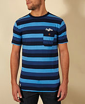 Duffer of St George Winchester 3 Stripe T-Shirt - Exclusive