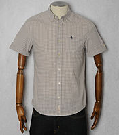 Original Penguin Gingham Short Sleeved Shirt